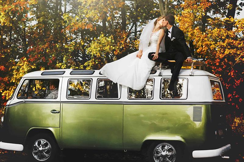 Czym do ślubu? Alternatywne formy dojazdu pary młodej