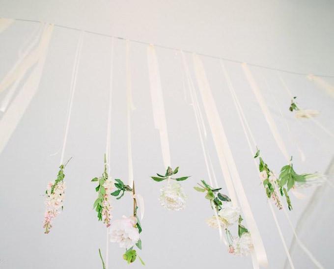 Dekoracje sali weselnej kwiaty
